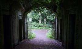 poort naar tuin